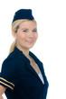 freundliche stewardess
