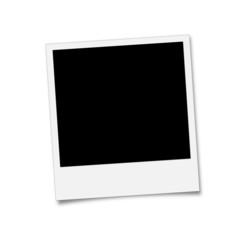 Polaroid Bild - freigestellt