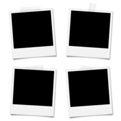 Polaroid Set mit Klebestreifen - freigestellt