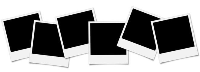 Polaroid Collage breit - freigestellt