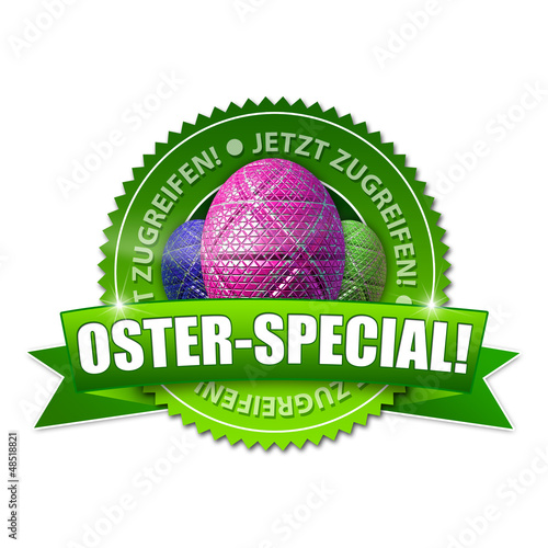 Oster-Special! Button, Icon