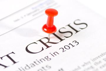 word a crisis