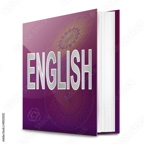 English text book.