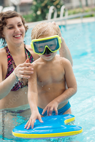 Kid in goggles