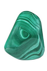 Green mineral malachite