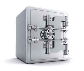 Large safe, closed