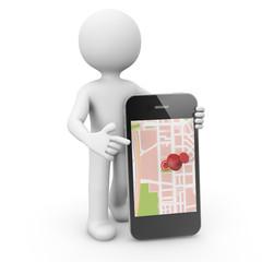 phone map