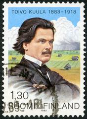 FINLAND - 1983: shows Toivo Kuula (1883-1918), Composer