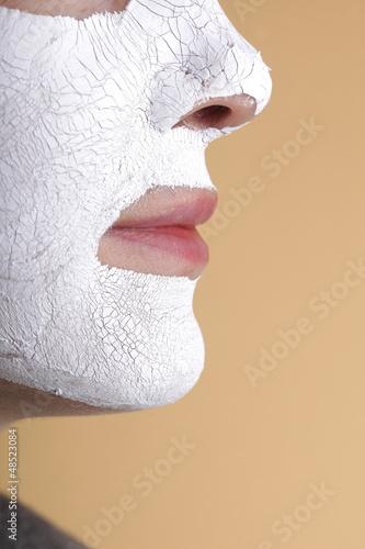 Facial Mask. Spa