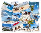 collection de photos souvenirs de vacances