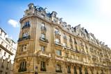 Fototapety Altbau in Paris - Haus - Eckhaus