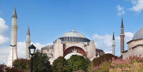 Hagia Sophia basilica. Museum in Istanbul, Turkey