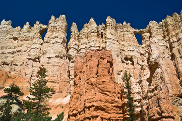Wall of windows à Bryce Canyon National park - Utah, USA