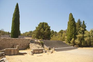 Asklepieion temple on Kos island, Greece