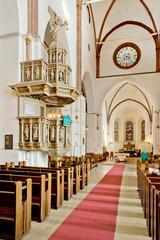 Interior of Riga Dome Cathedral
