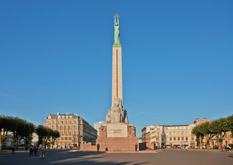 Freedom monument, Riga.
