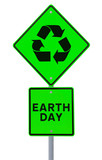 Earth Day Road Sign poster