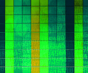 Green PC Abstract Tech Background