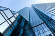 Leinwanddruck Bild - Bürogebäude - Bank in Frankfurt