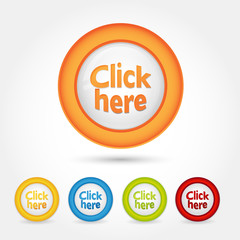 Bottone Gomma Click here