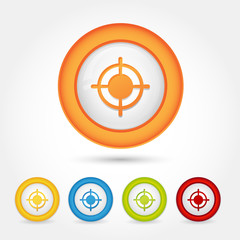 Bottone Gomma Target