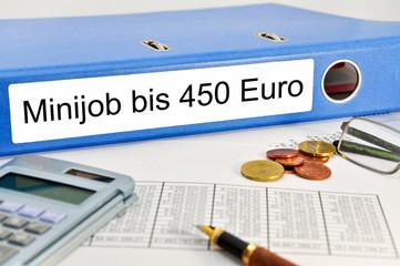 Nebenjob Minijob bis 450 €