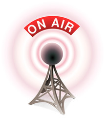Émetteur radio ON AIR