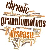 Word cloud for Chronic granulomatous disease poster