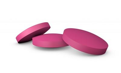 Pink medicine