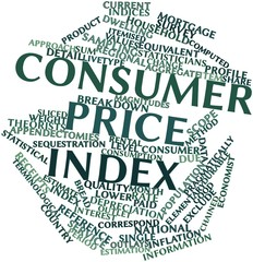 Word cloud for Consumer price index