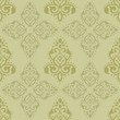 Damask wallpaper seamless pattern