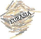 Word cloud for Eurasia poster