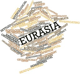 Word cloud for Eurasia