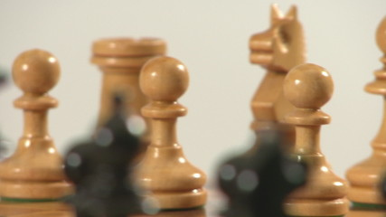 chess pieces rotating