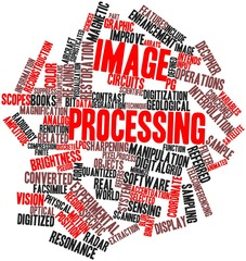 Word cloud for Image processing
