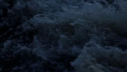 Schnell rauschendes Wasser