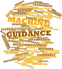 Word cloud for Machine guidance