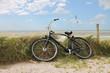Leinwandbild Motiv Fahrrad - 001 - Strand