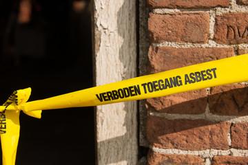 Forbidden asbestos