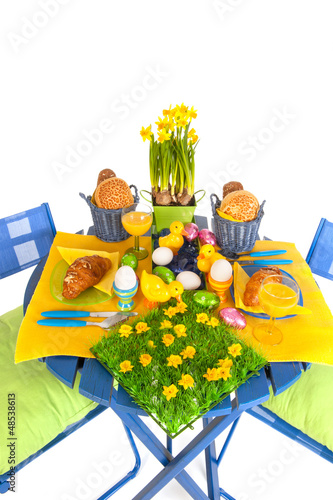 Detail easter table