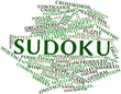 Word cloud for Sudoku