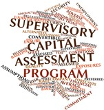 Word cloud for Supervisory Capital Assessment Program poster