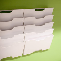 casier rangement papier