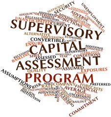 Word cloud for Supervisory Capital Assessment Program