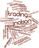 Word cloud for Trading nation
