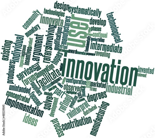 Word cloud for User innovation