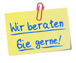 Beratung Service Post It  #130115-svg01