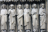 Saint Bartholomew, Simon, James, Andrew, John, and Peter.