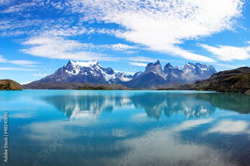 Leinwandbilder,blau,camping,chile,chilean