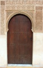 Spanien - Alhambra Tür